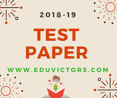 CBSE Class 10 - Sanskrit(संस्कृत)  Pre-Board Sample Question Paper (2018-19) (#cbsenotes)(#eduvictors)