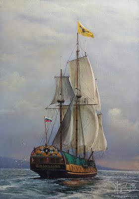 diseños-variados-cuadros-de-barcos-al-oleo