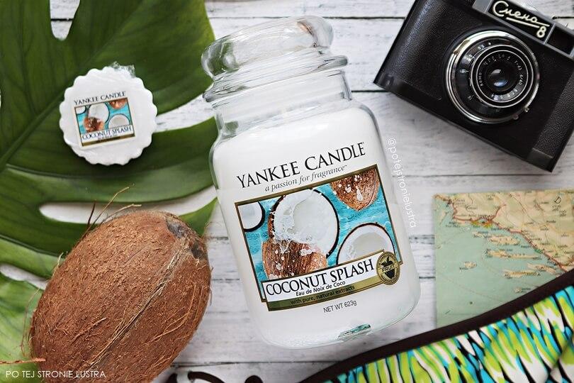 świeca i wosk coconut splash yankee candle