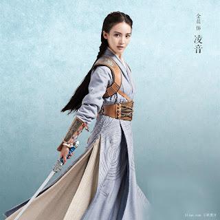 Gina Jin in 2016 fantasy wuxia Chinese Paladin 5 Yun Zhi Fan