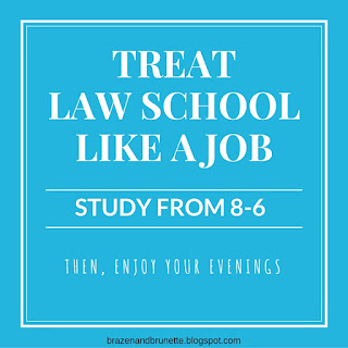 law school orientation day 2 | brazenandbrunette.com