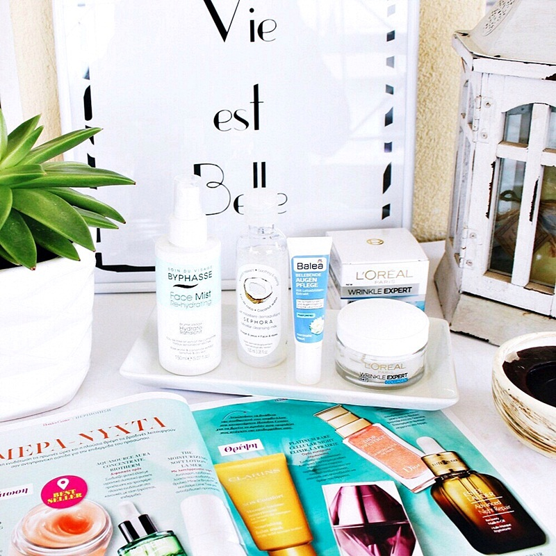 morning skincare routine for healthy glowy skin