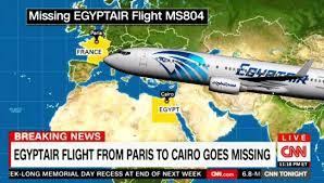 Pesawat EgyptAir MS804 menuju ke Kaherah dilaporkan hilang dari radar