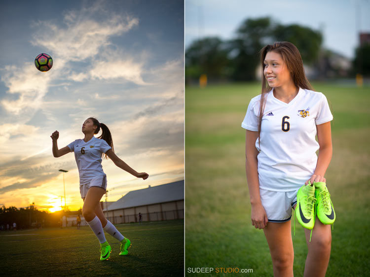 Girls Soccer Ann Arbor Senior Pictures Photographer - SudeepStudio.com