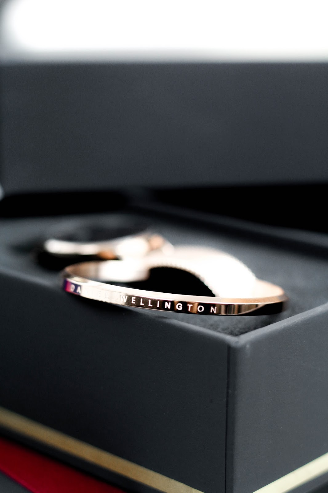 Daniel Wellington Rose Gold Bangle