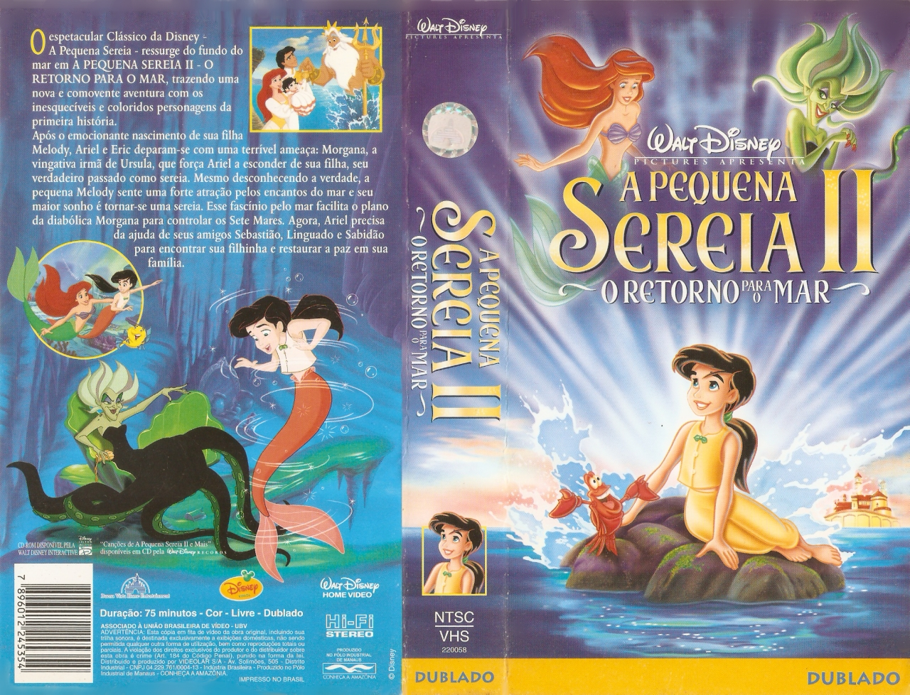 A Pequena Sereia 2 O Retorno Para O Mar Completo Dublado Desenho Ani Papel De Parede Pequena Sereia Personagens Pequena Sereia Mermaid Wallpaper