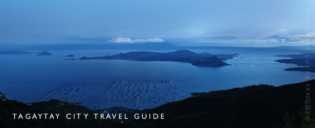 Tagaytay Travel Blog Guide