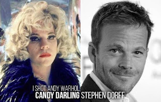 Candy Darling Before & After Impersonation