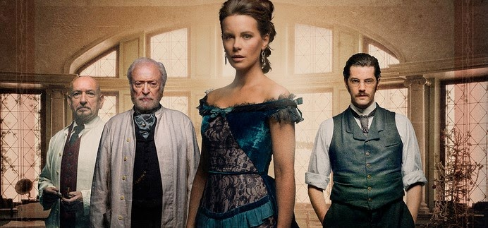 Kate Beckinsale, Ben Kingsley e Michael Caine no trailer do suspense Stonehearst Asylum, de Brad Anderson