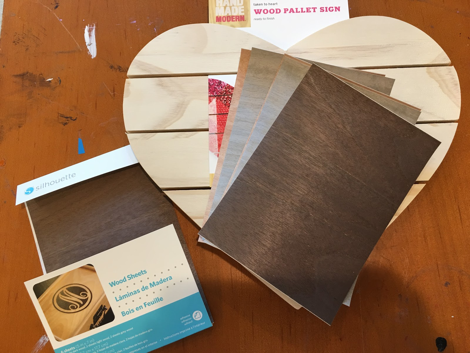 Silhouette Wood Grain Sheets Review