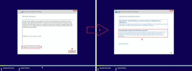 Windows 10: ¿Que tipo de Instalación quieres?