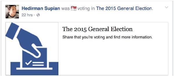 Facebook今年第一次在台灣推出選舉大聲公