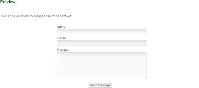 Cara Membuat Contact Form di Blogger Paling Mudah