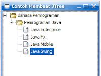 Belajar Java - Cara Membuat JTree di Java