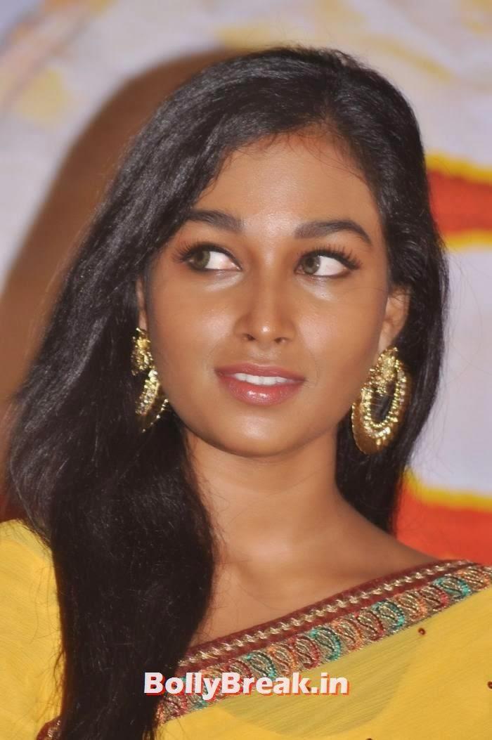 Swathi images, Kollywood Actress Swathi hot Pics in yellow Saree