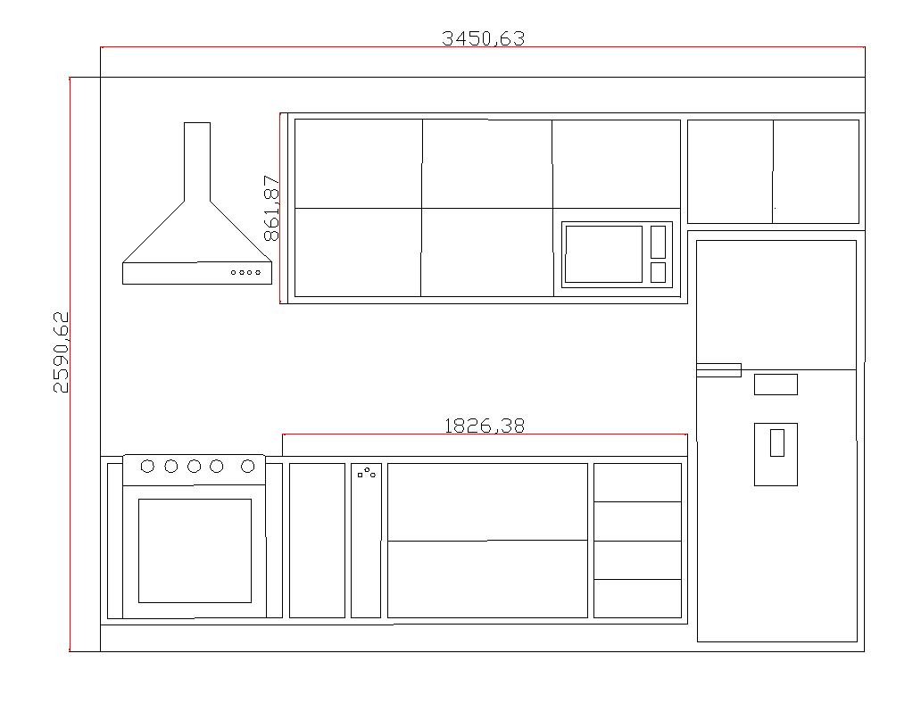 Cozinha Completa Modelos Desenhos para Colorir e pintar e Imprimir #854646 1032 816