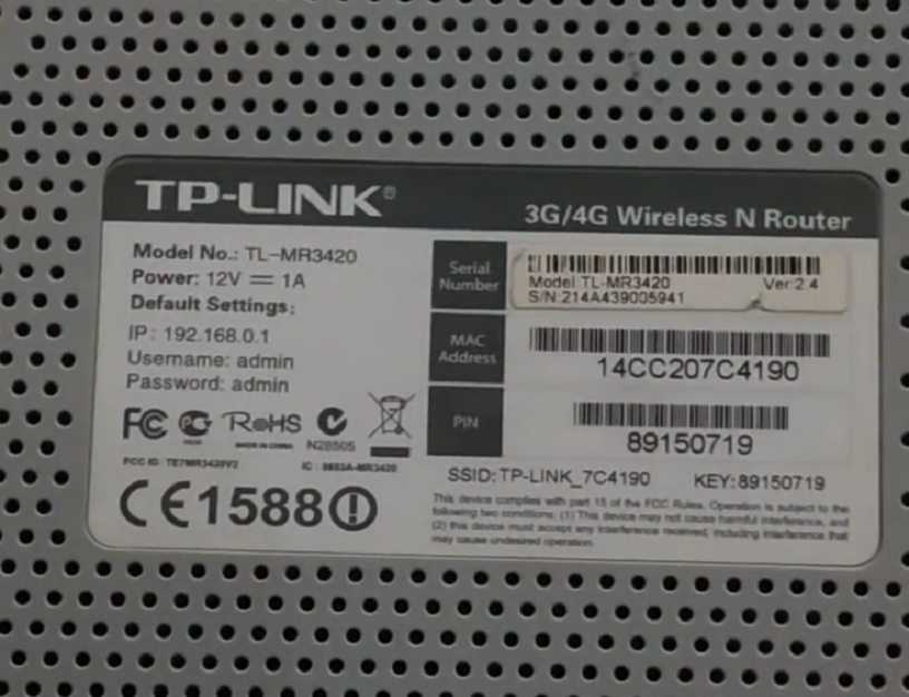 Cara setting TP Link TL WR 3420 3G/4G Wireless via hp Android