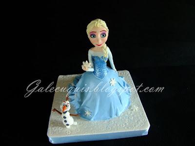 Tarta Elsa Vestido