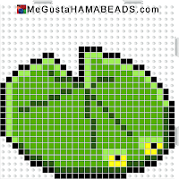 hama beads midi lilypad-body