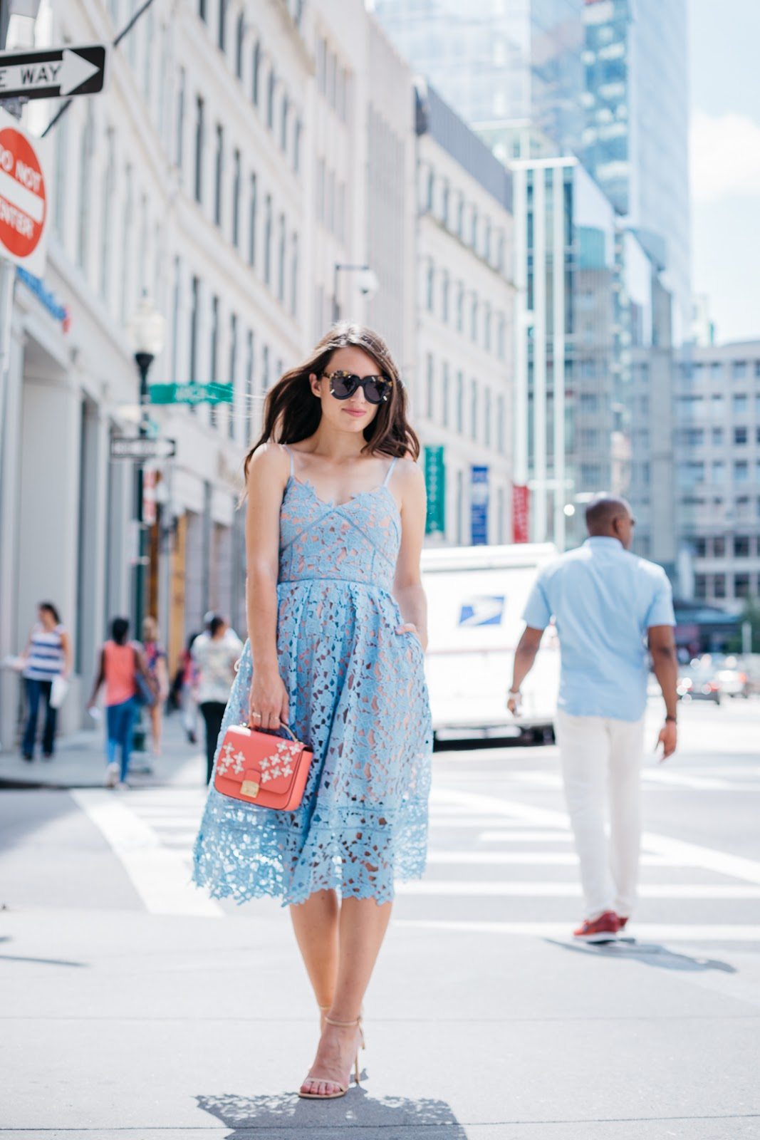 Less than $50 this feminine lace midi dress is proof that looking chic doesn't have to cost a lot