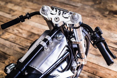 Suzuki GSX Custom Tree Clamp by Ed.Turner Motorcycles