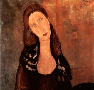 Portrait de Jeanne Hébuterne exposé au musée d'Orsay
