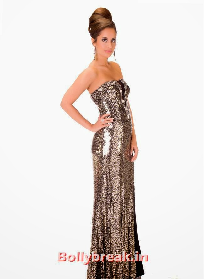 Miss Denmark, Miss Universe 2013 Evening Gowns Pics