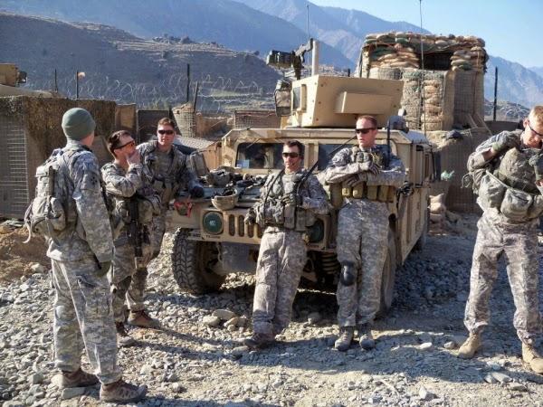 A batalha de Kamdesh durante a guerra no Afeganistão