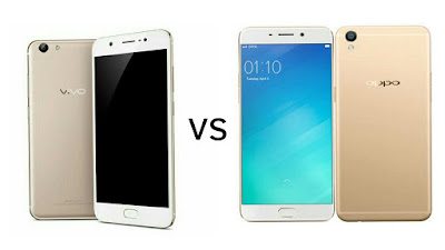 Vivo Y69 vs Oppo F1s : HD Display, MediaTek MT6750 SoC