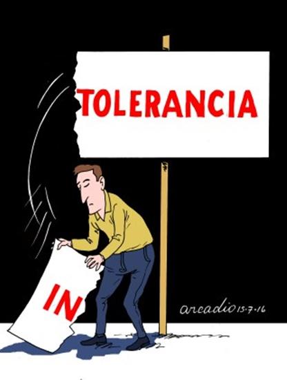 Resultado de imagem para tolerancia politica charges