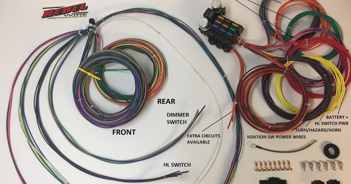 Usa Plus Wiring Harness : Rebel wire new underseat wiring harness
