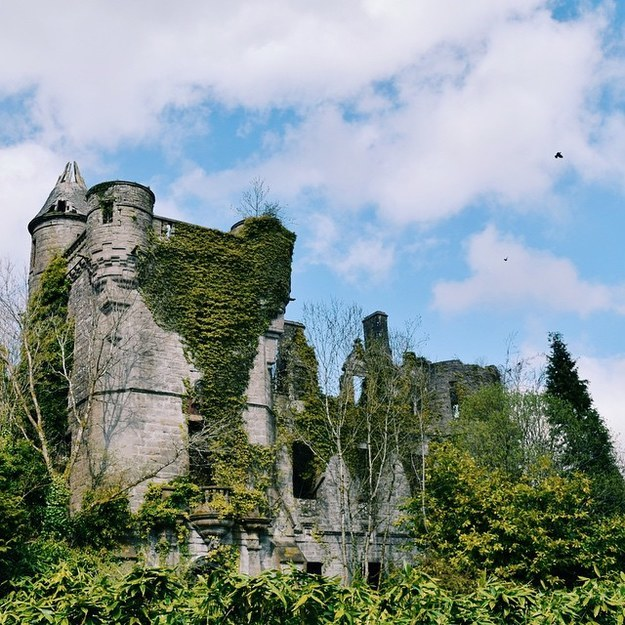17 Real Places That Are Probably Portals To The Wizarding World - Buchanan Castle in Stirlingshire, Scotland