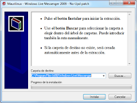 Download Maurilinux, program to avoid update of Messenger 2009 to 2011