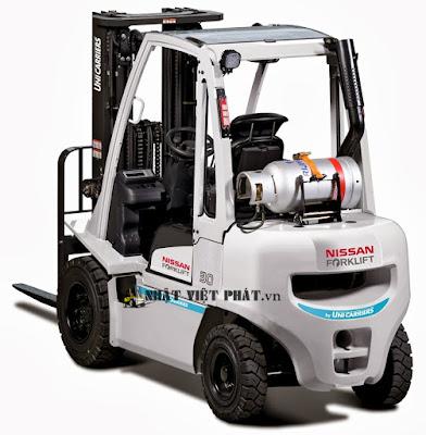 Ưu điểm xe nâng điện Nissan chạy điện ngồi lái 3 tấn