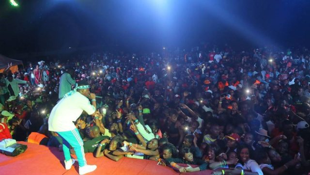 Rayvanny (Raymond) - Live Performance at BIDIBADU (Kenya)
