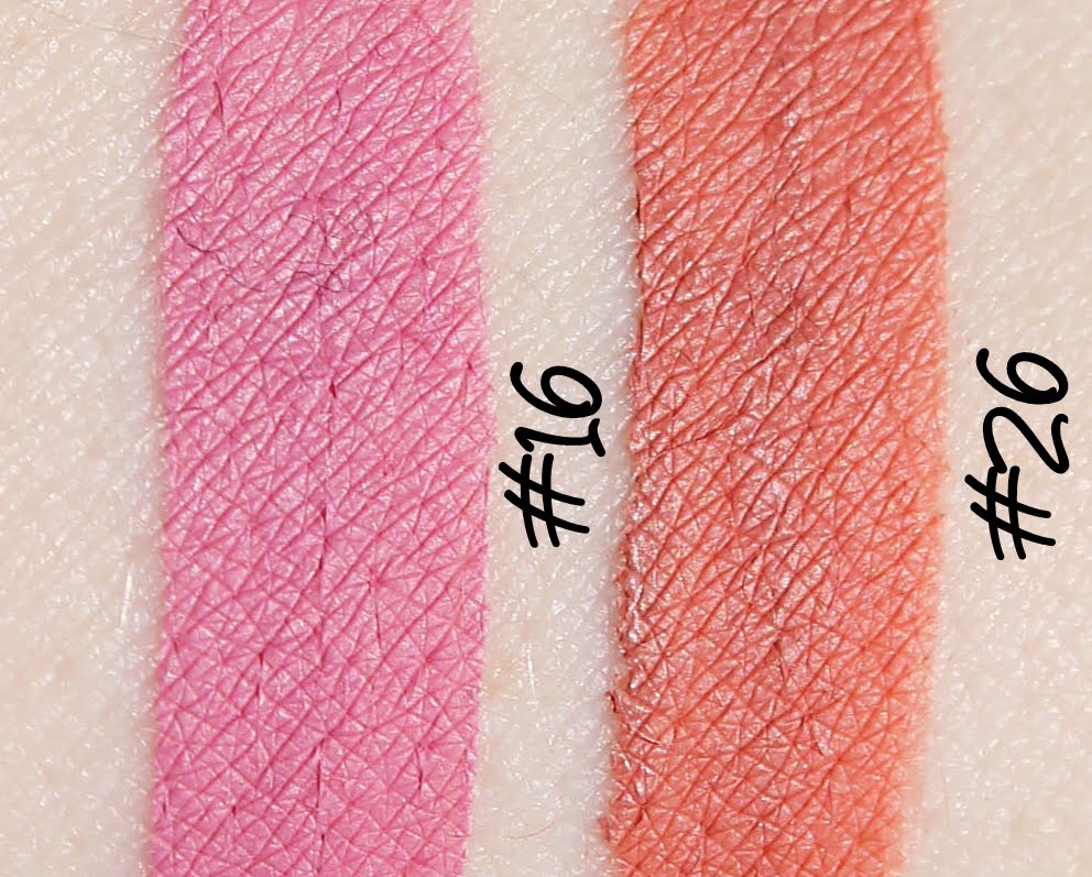 MeNow Generation II Long Lasting Lipgloss - #16 and #26 Swatches & Review