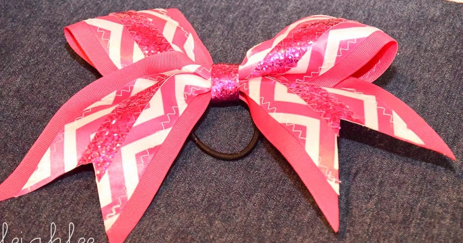Zip Tie Gun >> the Jocole blog: How to Make a Cheer Bow