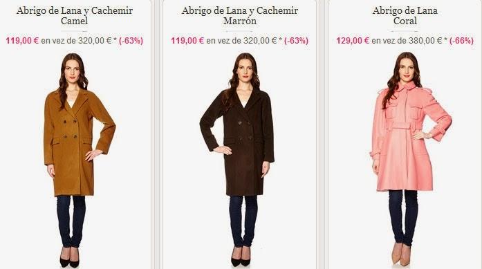 Abrigos de lana más baratos que en rebajas