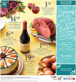 ⭐ Publix Ad 4/21/19 or 4/22/19 ✅ Publix Weekly Ad April 21 2019