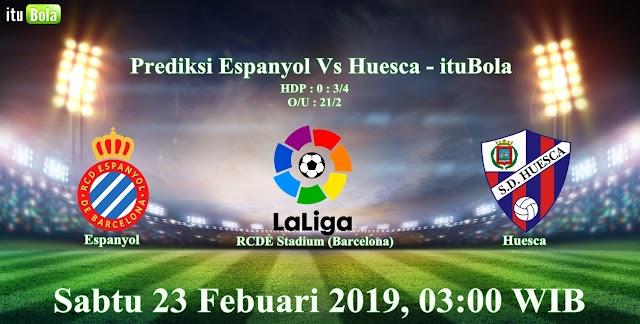 Prediksi Espanyol Vs Huesca - ituBola