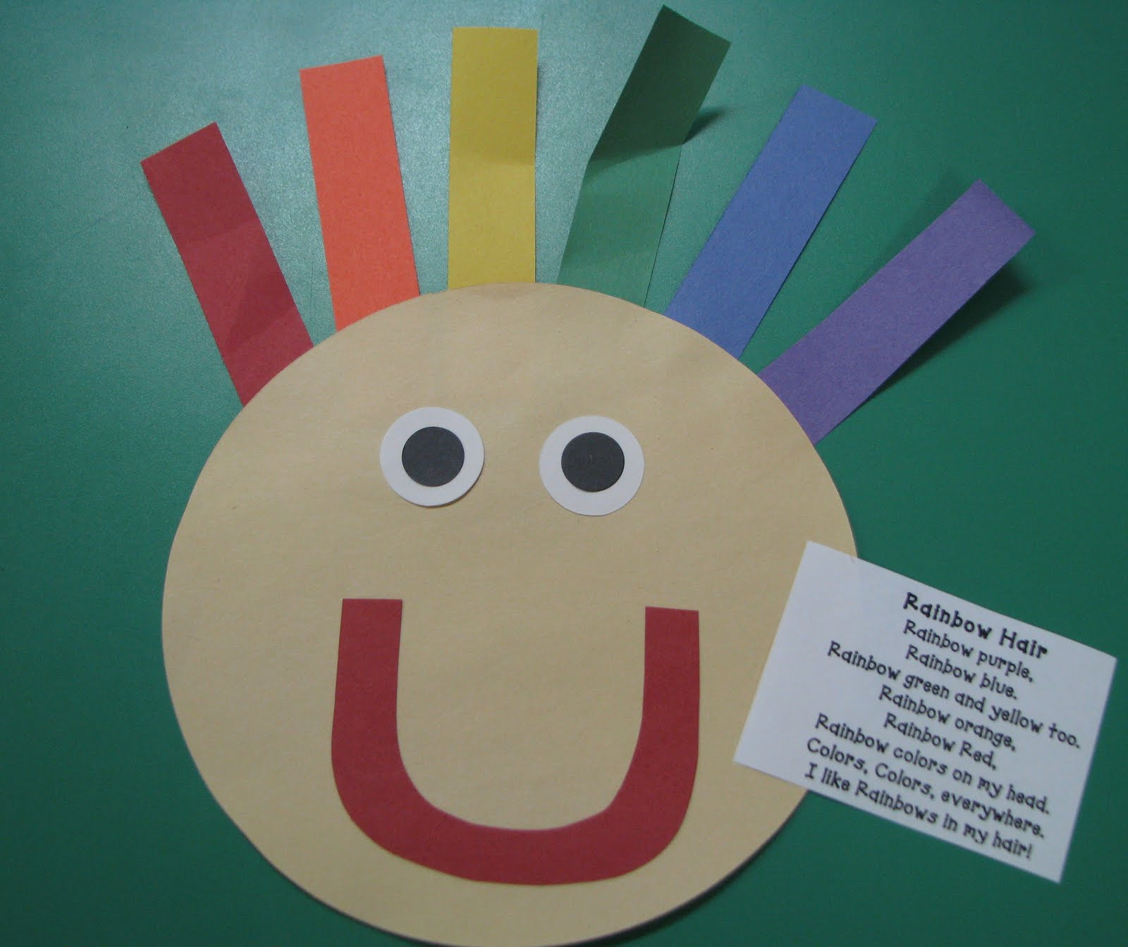 Mrs Mayas Kindergarten Rainbow Day