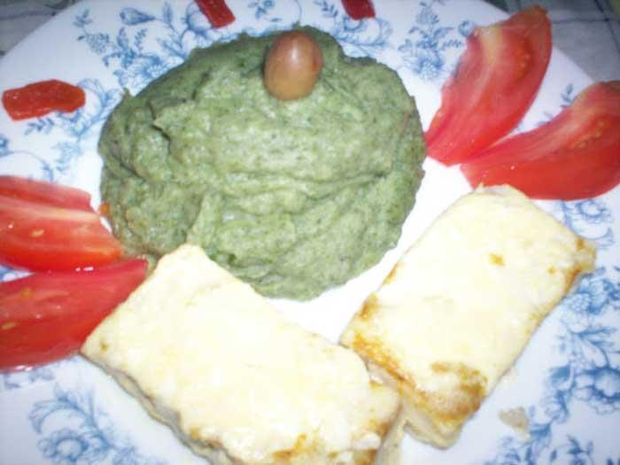 Lombinhos de pescada com natas e mostarda