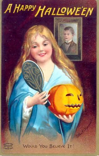 Cartel de Halloween de 1904 Curiosidades de la fiesta de Halloween