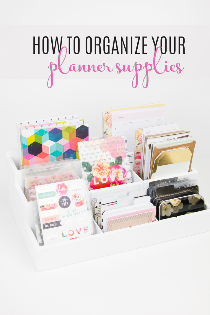 image relating to Planner Supplies named How in the direction of Prepare Your Planner Materials - Component 1 - Make Sometimes