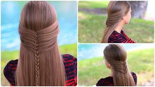 Saç Örgü Modelleri Ve Yapılışları Resimli