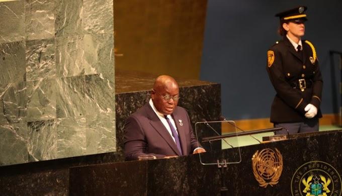 Full Speech: Akufo-Addo speaks at UN General Assembly