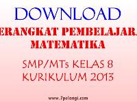 Download Contoh RPP Matematika Kelas 8 (VIII) SMP/MTs Kurikulum 2013 Materi Pokok Pola Bilangan