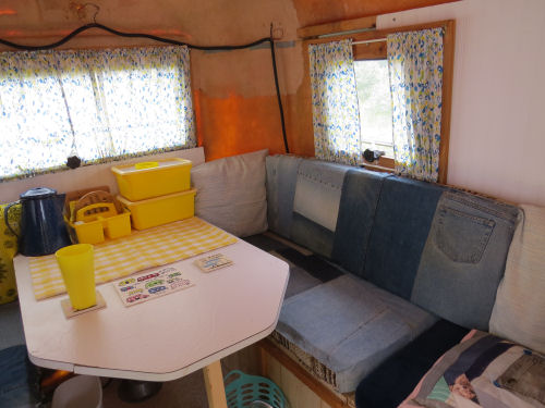 fiberglass trailer interior