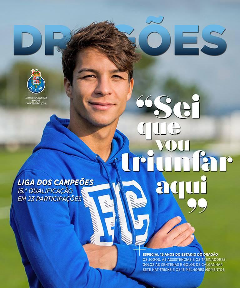 Memória Portista  Revista Dragões – n.º 384-novembro 84176b167c3dd