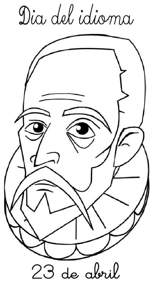 Miguel de Cervantes Saavedra dibujo